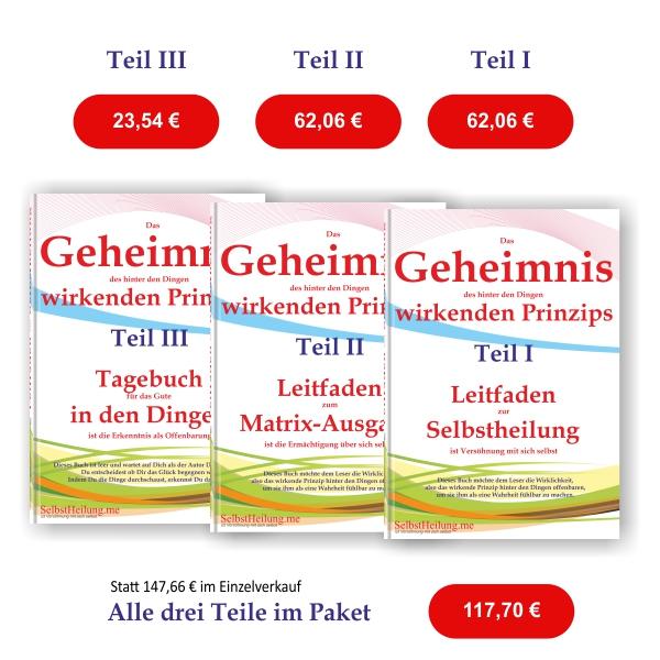 E- Bücher Geheimnis (Teile: I, II und III)